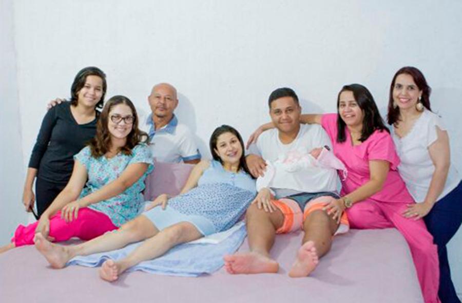 Família Enfermeira Maria Morais
